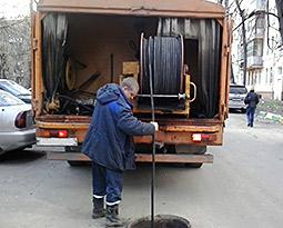 Бытовая прочистка канализации